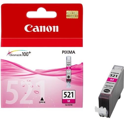 Canon CLI-521M Ink Cartridge - Magenta