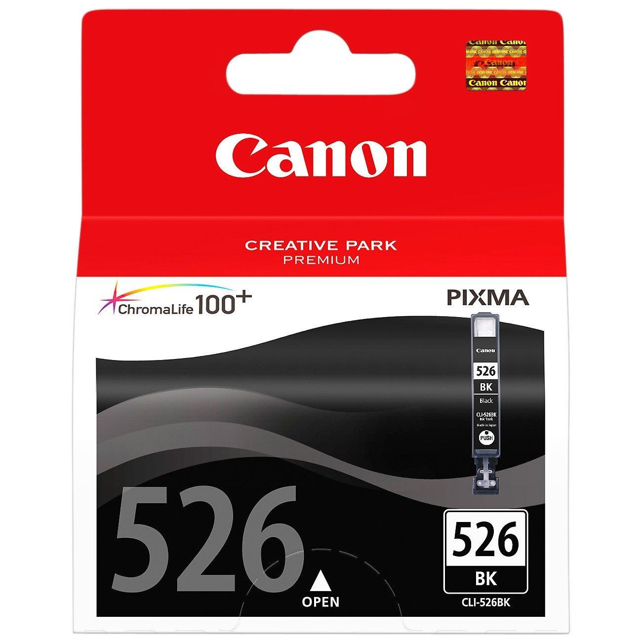 Canon CLI526BK Original Ink Cartridge - Black