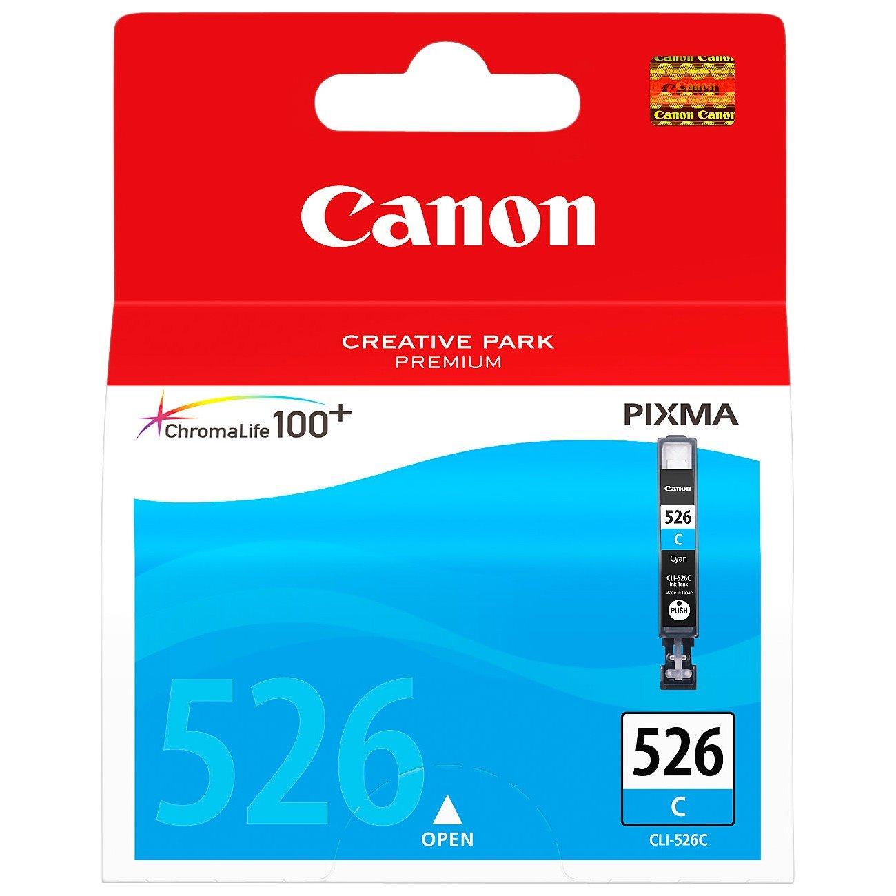Canon CLI526C Original Ink Cartridge - Cyan