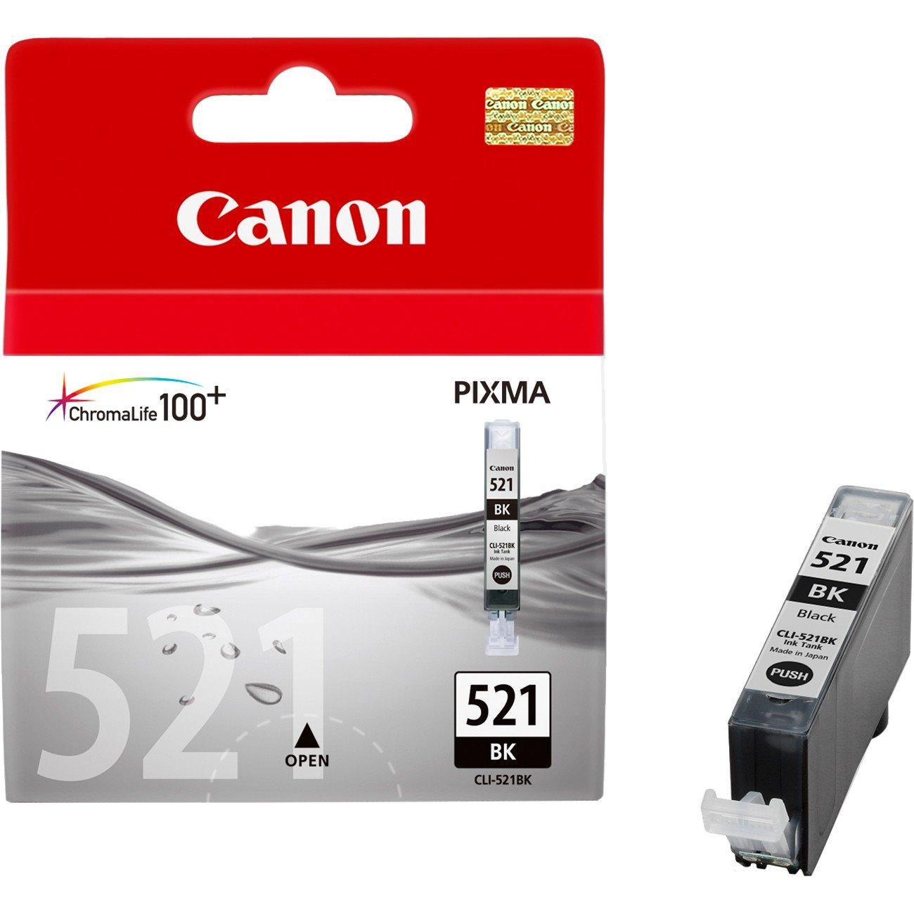 Canon CLI-521BK Original Ink Cartridge - Black