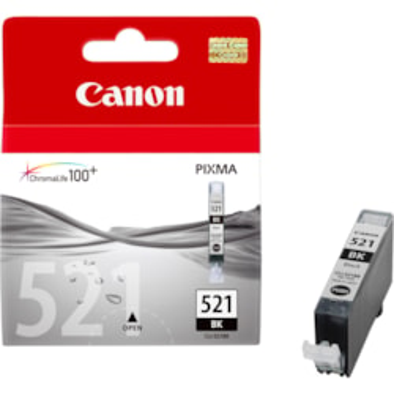Canon CLI-521BK Ink Cartridge - Black