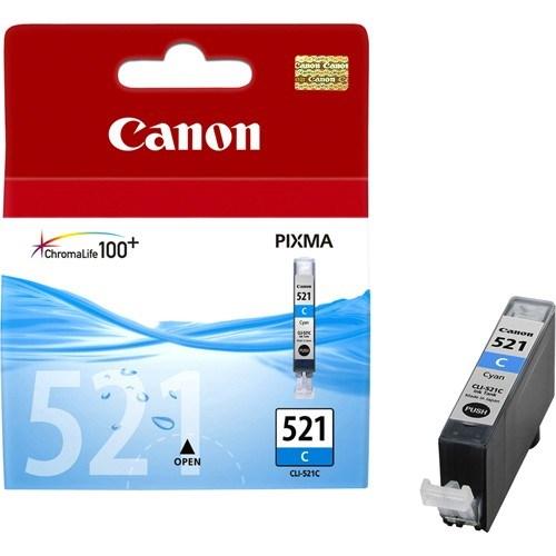 Canon CLI-521C Original Ink Cartridge - Cyan