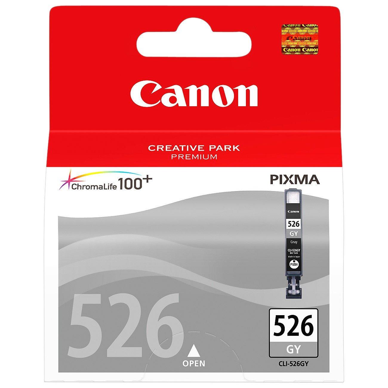 Canon CLI526GY Original Ink Cartridge - Grey