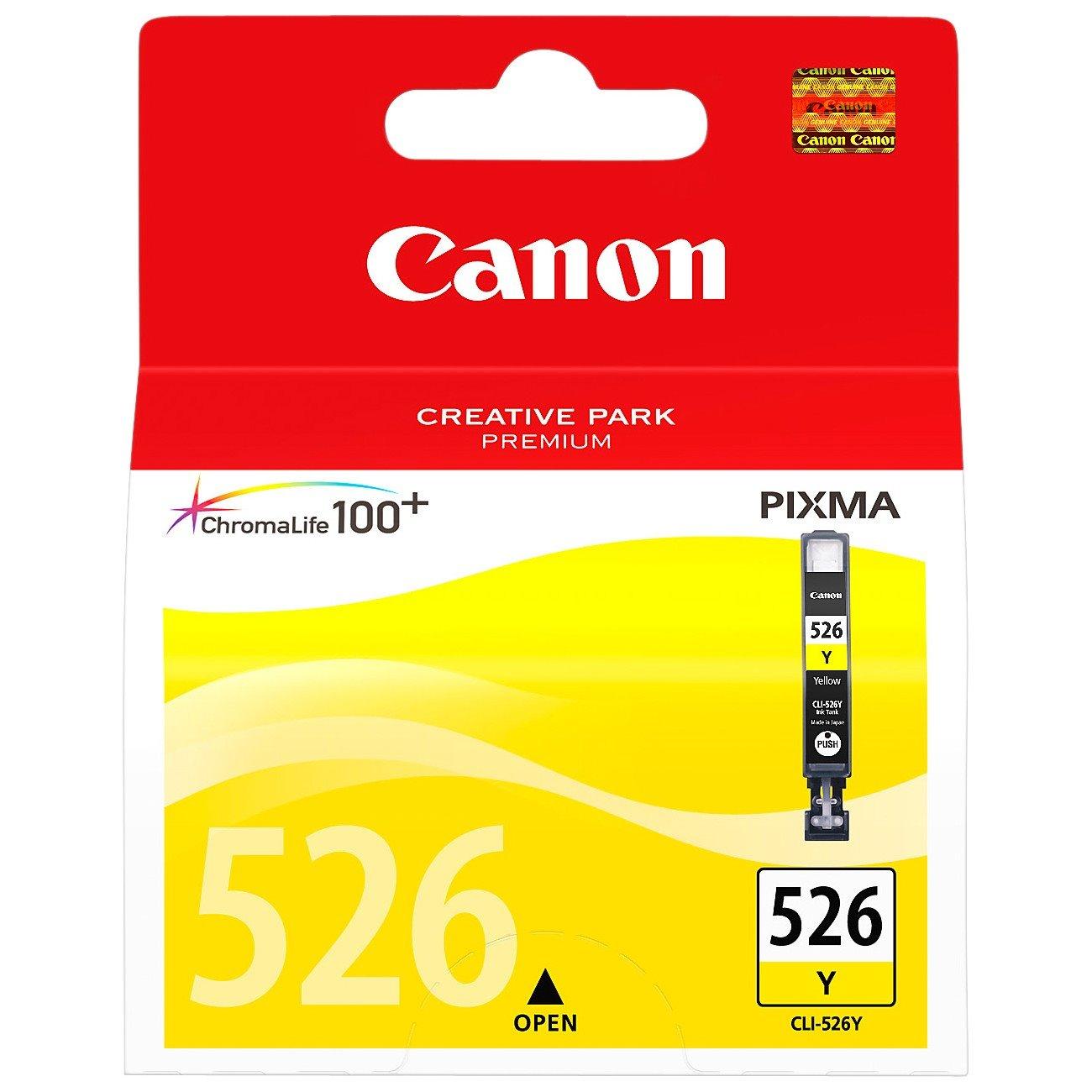 Canon CLI526Y Ink Cartridge - Yellow