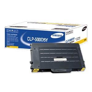 Samsung CLP-500D5Y Original Toner Cartridge - Yellow