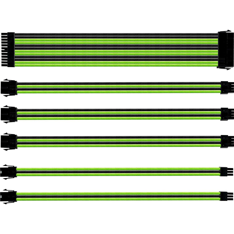 Cooler Master CMA-SEST16GRBK1-GL Power Extension Cord - 30 cm