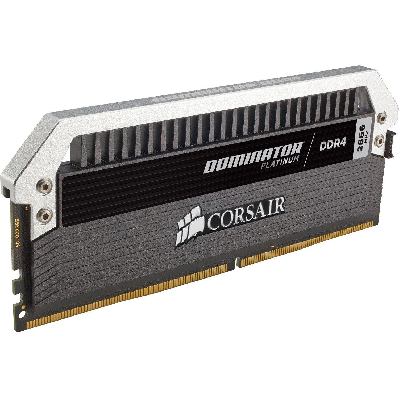 Corsair Dominator Platinum RAM Module - 16 GB (2 x 8 GB) - DDR4-3000/PC4-24000 DDR4 SDRAM - CL15 - 1.35 V