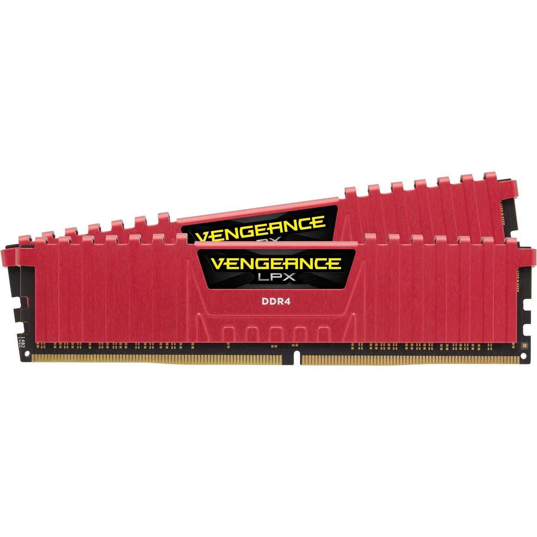 Corsair Vengeance LPX RAM Module - 16 GB (2 x 8 GB) - DDR4-2133/PC4-17000 DDR4 SDRAM - CL13 - 1.20 V