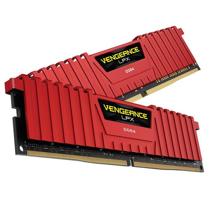 Corsair Vengeance LPX RAM Module - 16 GB (2 x 8 GB) - DDR4-3000/PC4-24000 DDR4 SDRAM - CL15 - 1.20 V
