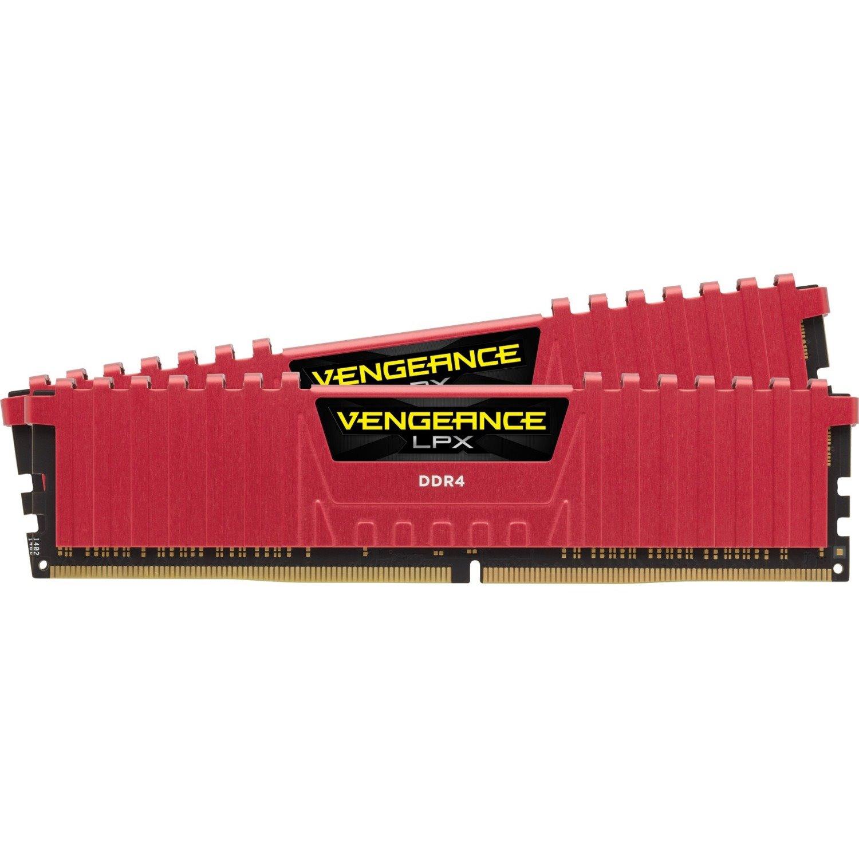 Corsair Vengeance LPX RAM Module - 32 GB (2 x 16 GB) - DDR4-2400/PC4-19200 DDR4 SDRAM - CL14 - 1.20 V