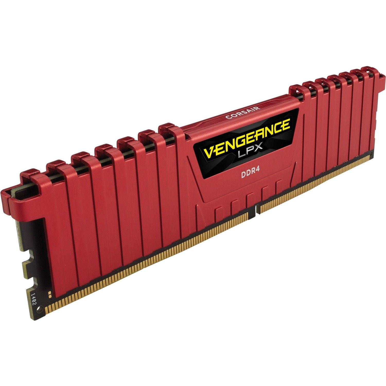 Corsair Vengeance LPX RAM Module - 8 GB (1 x 8 GB) - DDR4-2666/PC4-21300 DDR4 SDRAM - CL16 - 1.20 V