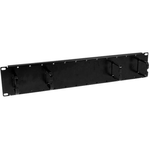 StarTech.com CMPNL2U Cable Management Panel - Black - 1 Pack