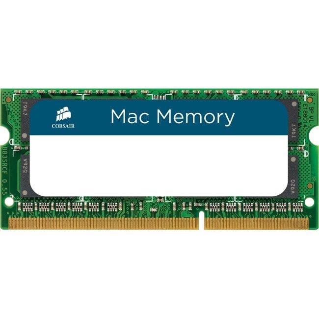 Corsair Mac RAM Module for Notebook, Desktop PC - 16 GB (2 x 8 GB) - DDR3-1600/PC3-12800 DDR3 SDRAM - CL11 - 1.35 V