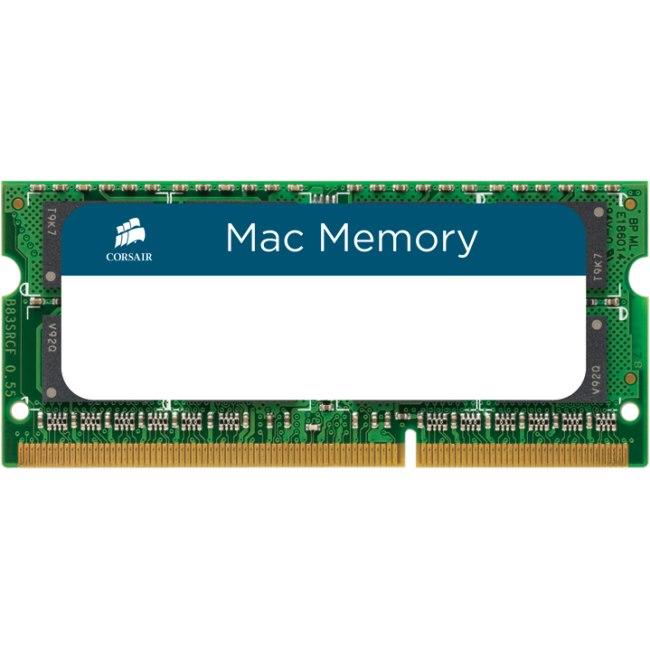 Corsair Mac RAM Module for Notebook, Desktop PC - 8 GB (1 x 8 GB) - DDR3-1600/PC3-12800 DDR3 SDRAM - CL11 - 1.35 V