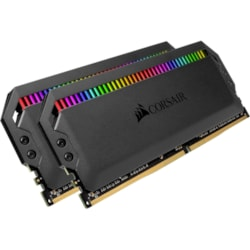 Corsair Dominator Platinum RGB RAM Module for Desktop PC, Motherboard - 16 GB (2 x 8 GB) - DDR4-3200/PC4-25600 DDR4 SDRAM - CL16 - 1.35 V