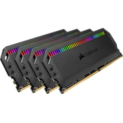Corsair Dominator Platinum RGB RAM Module for Desktop PC - 32 GB (4 x 8 GB) - DDR4-3000/PC4-24000 DDR4 SDRAM - CL15 - 1.35 V