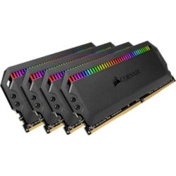 Corsair Dominator Platinum RGB RAM Module for Motherboard - 32 GB (4 x 8 GB) - DDR4-3200/PC4-25600 DDR4 SDRAM - CL15 - 1.35 V