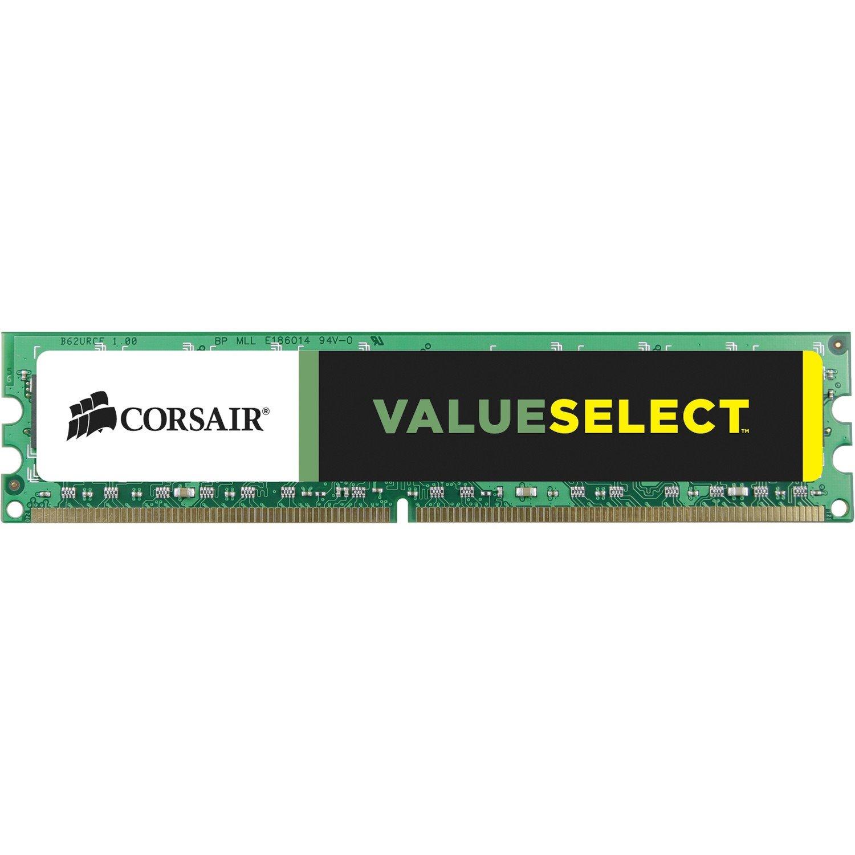 Corsair ValueSelect RAM Module - 8 GB (1 x 8 GB) - DDR3-1600/PC3-12800 DDR3 SDRAM - CL11 - 1.50 V