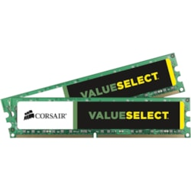Corsair ValueSelect RAM Module - 8 GB (2 x 4 GB) - DDR3-1600/PC3-12800 DDR3 SDRAM - CL11 - 1.50 V