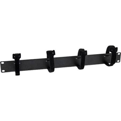 StarTech.com Cable Management Panel - Black - 1 Pack - TAA Compliant