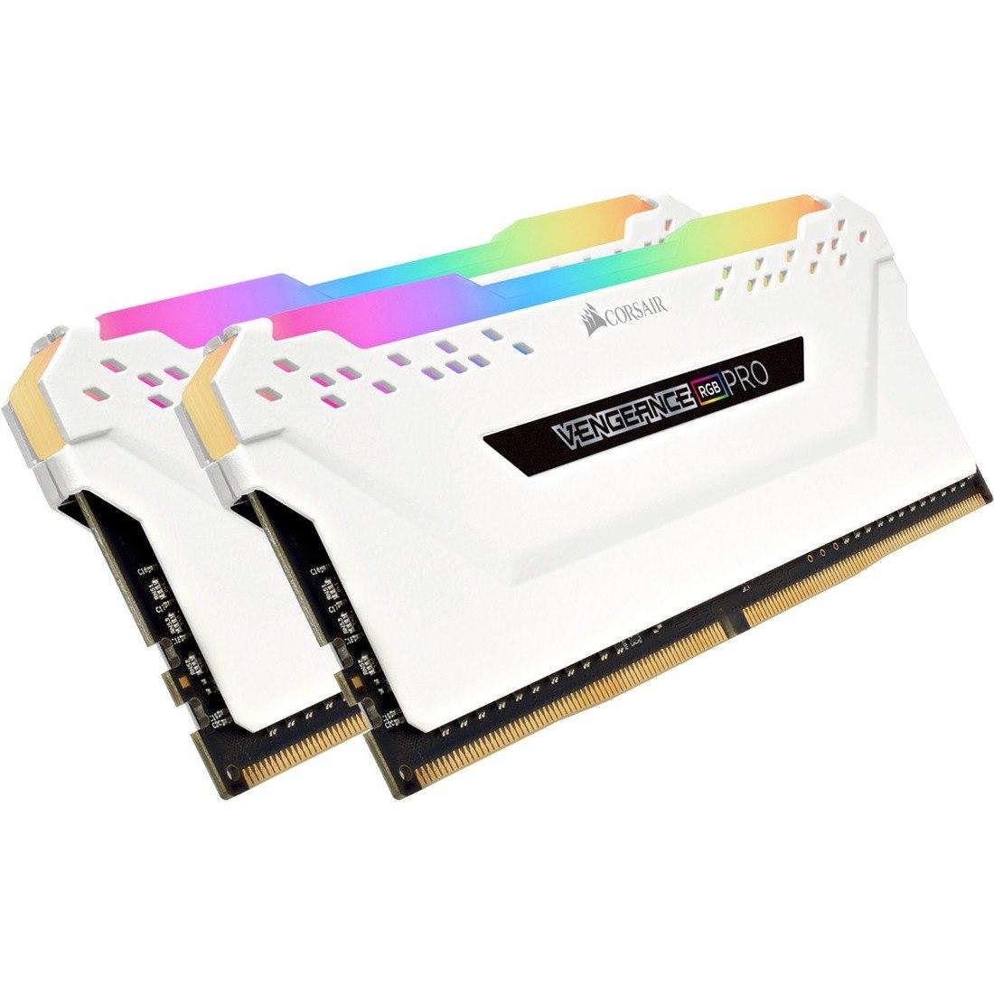 Corsair Vengeance RGB Pro RAM Module - 16 GB (2 x 8 GB) - DDR4-3000/PC4-24000 DDR4 SDRAM - CL15 - 1.35 V