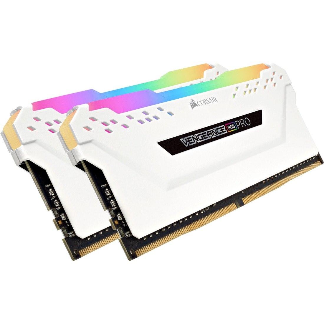 Corsair Vengeance RGB Pro RAM Module - 16 GB (2 x 8 GB) - DDR4-3200/PC4-25600 DDR4 SDRAM - CL16 - 1.35 V