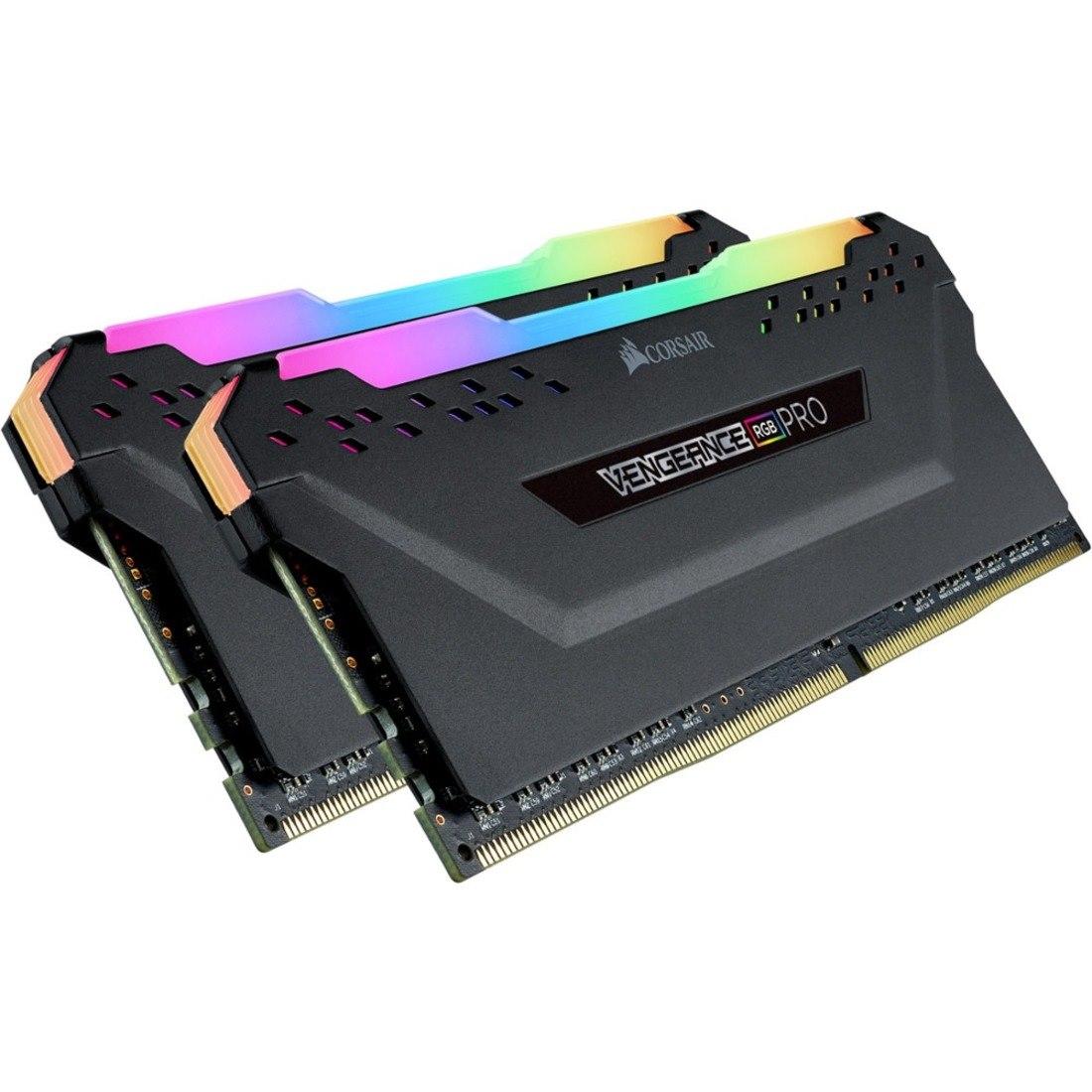 Corsair Vengeance RGB Pro RAM Module for Desktop PC - 32 GB (2 x 16 GB) - DDR4-3200/PC4-25600 DDR4 SDRAM - CL16 - 1.35 V
