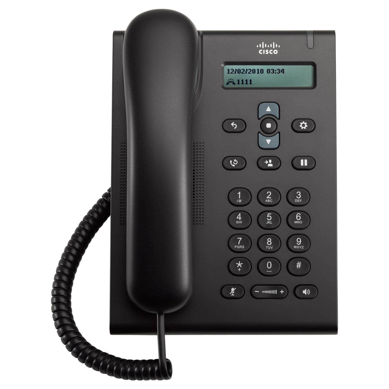 Cisco 3905 IP Phone - Wall Mountable, Desktop - Charcoal