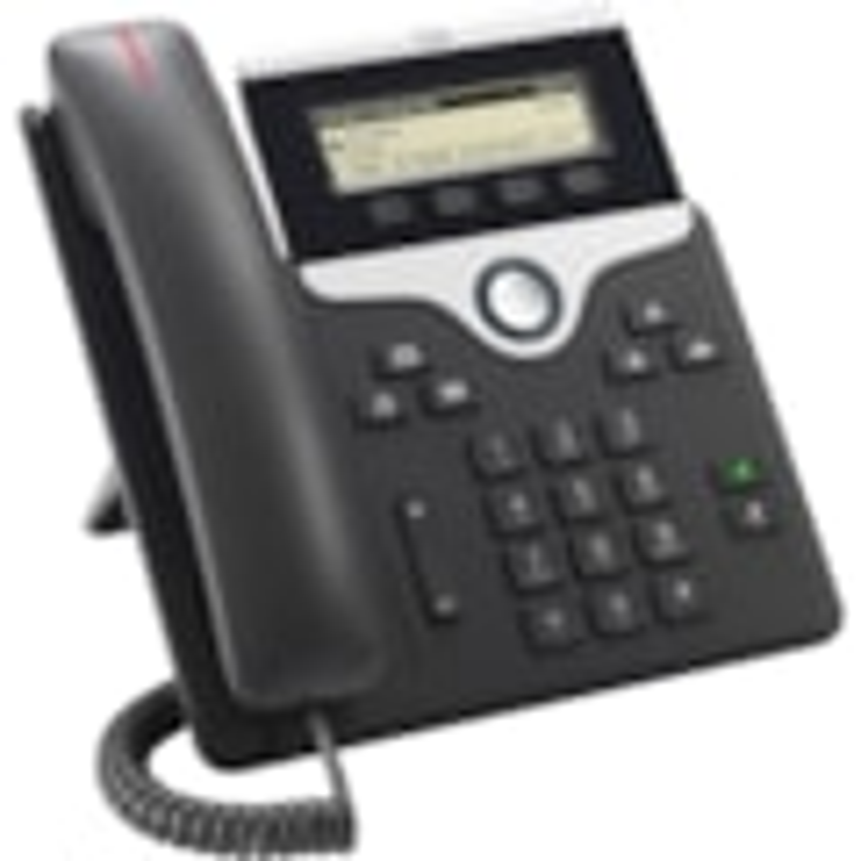 Cisco 7811 IP Phone - Wall Mountable - Charcoal
