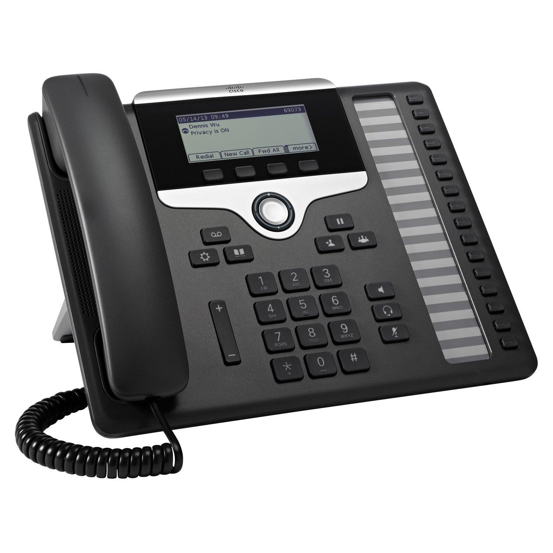 Cisco 7861 IP Phone - Wall Mountable, Desktop - Charcoal