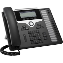 Cisco 7861 IP Phone - Wall Mountable, Desktop - Charcoal