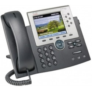 Cisco Unified 7965G IP Phone - Wall Mountable