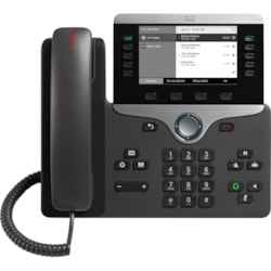 Cisco 8811 IP Phone - Wall Mountable, Desktop - Charcoal