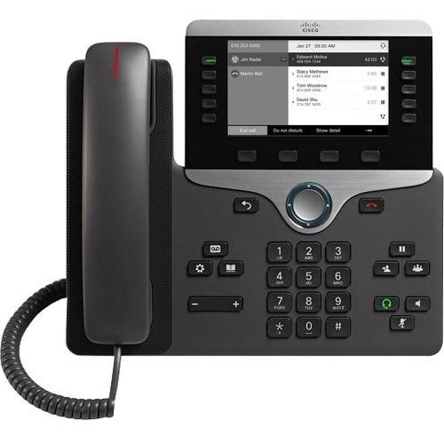Cisco 8811 IP Phone - Wall Mountable - Black