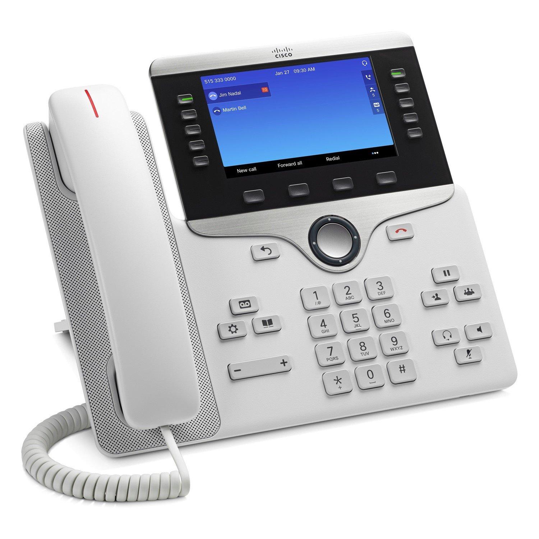 Cisco 8841 IP Phone - Corded - Wall Mountable, Desktop - Charcoal Grey