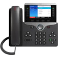 Cisco 8841 IP Phone - Remanufactured - Wall Mountable - Black, Silver