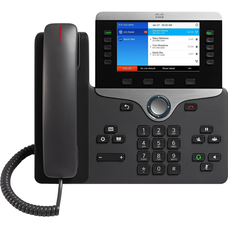 Cisco 8841 IP Phone - Refurbished - Wall Mountable