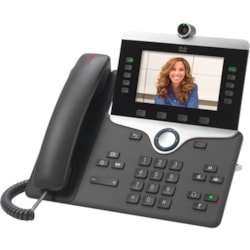 Cisco 8845 IP Phone - Corded/Cordless - Corded - Bluetooth - Wall Mountable