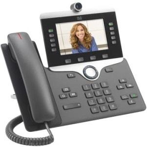 Cisco 8845 IP Phone - Wall Mountable - Charcoal