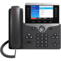 Cisco 8851 IP Phone - Refurbished - Corded - Corded - Bluetooth - Desktop, Wall Mountable - Charcoal