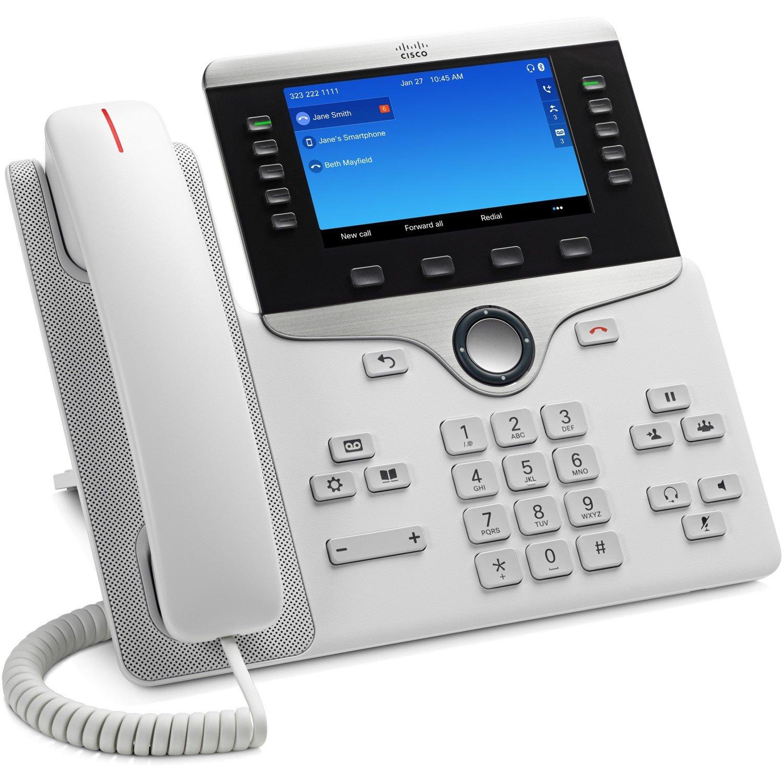 Cisco 8851 IP Phone - Wall Mountable - White