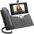 Cisco 8865 IP Phone - Corded/Cordless - Corded/Cordless - Wi-Fi, Bluetooth - Desktop, Wall Mountable