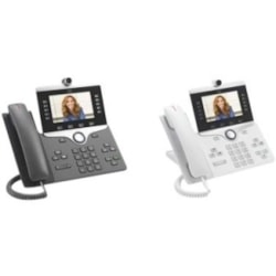 Cisco 8865 IP Phone - Wall Mountable - Charcoal