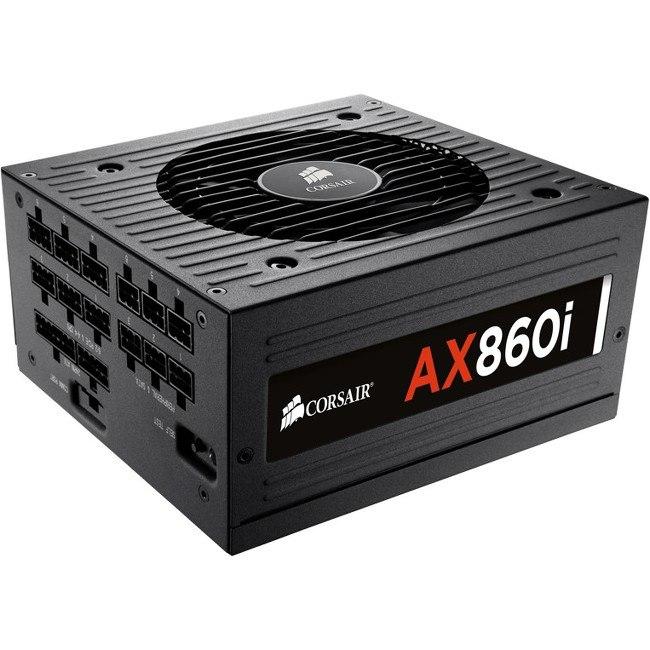 Corsair AX860 ATX12V/EPS12V Power Supply - 92% Efficiency - 860 W