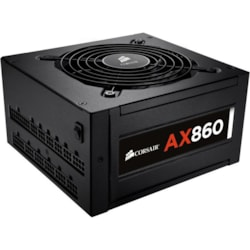 Corsair AX860 ATX12V/EPS12V Power Supply - 92% Efficiency - 860 W