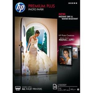 HP Premium Plus Inkjet Print Photo Paper