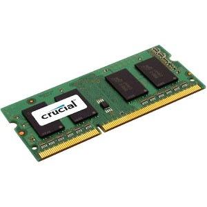 Crucial RAM Module for Notebook - 4 GB (1 x 4 GB) - DDR3-1600/PC3-12800 DDR3 SDRAM - CL11 - 1.35 V