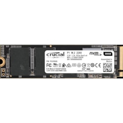 Crucial Client 500 GB Solid State Drive - M.2 2280 Internal - PCI Express (PCI Express 3.0 x4)