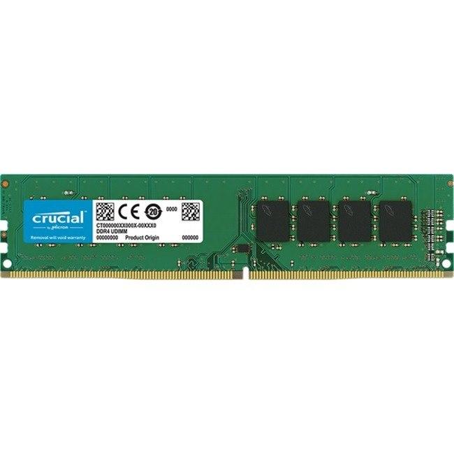 Crucial RAM Module for Desktop PC, Motherboard, Computer - 8 GB (1 x 8 GB) - DDR4-3200/PC4-25600 DDR4 SDRAM - CL22 - 1.20 V