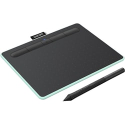 Wacom Intuos S CTL-4100WL Graphics Tablet - 2540 lpi - Wired/Wireless - Pistachio